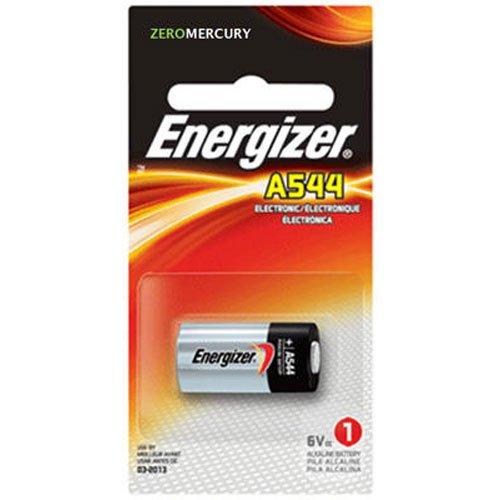 A544BPZ Zero Mercury Battery 1 Pack, 6v By Energizer by