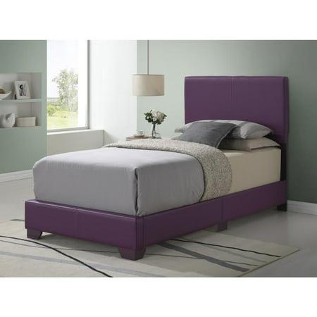 Glory Furniture Aaron G1806-TB-UP Twin Bed, Purple ()