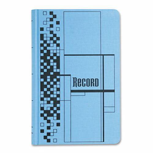 Adams Record Ledger Book, Blue Cloth Cover, 500 7 1 4 x 11 3 4 Pages by Cardinal Unijax, LLC