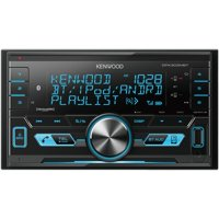 KENWOOD DPX303MBT Double-DIN In-Dash Digital Media Receiver with Bluetooth & SiriusXM Ready