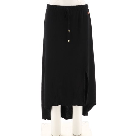 Peace Love World HiLow French Terry Knit Maxi Skirt A288672