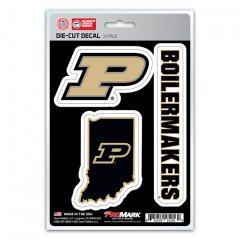 Purdue Boilermakers Team Decal Set