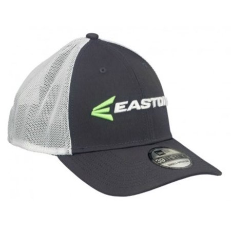 Easton Mens Gameday Hat M7 Linear 39Thirty Curved Bill Cap, Char/Grn/Wht A167906 (Easton Cap)