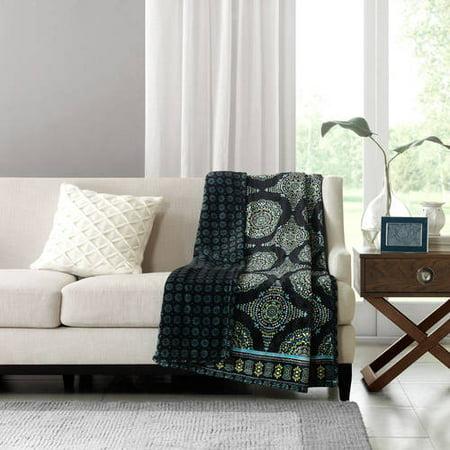 Better Homes And Gardens Reversible Throw Blanket