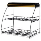 "Green Mountain  Wire Rack K-Cup Organizer, 18 3/10"" x 12 1/2"" x 17 1/2"", 1/BX -GMT5065"
