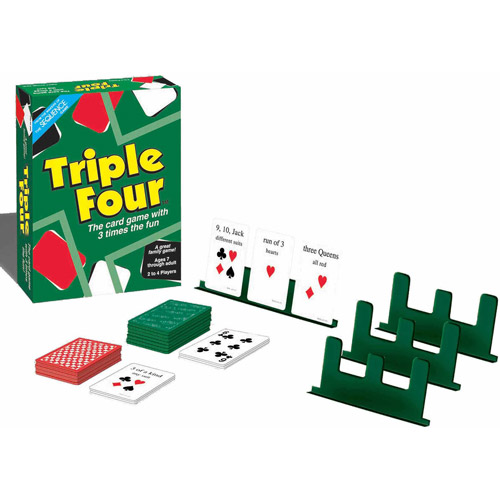 Triple 4 Card Game
