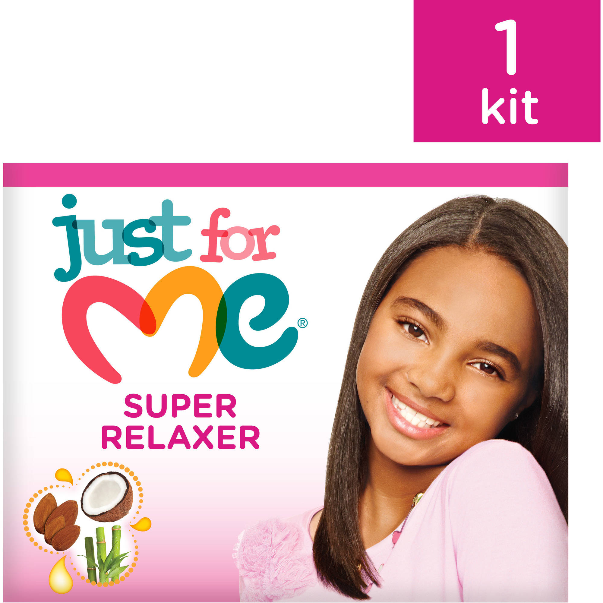 Just For Me Relaxer Kit Coarse No Lye Conditioning Creme
