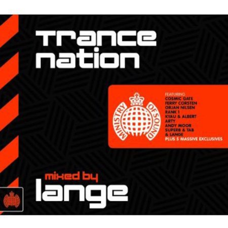 Trance Nation Mixed By Lange   Trance Nation Mixed By Lange  Cd