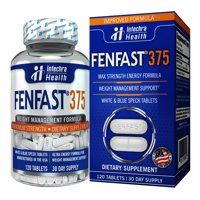Intechra Health Fenfast 375 Weight Loss Supplement, 450 mg, 120 Capsules