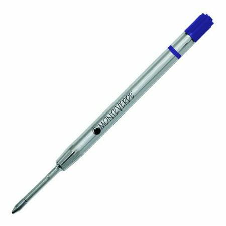 Monteverde P42 Capless Gel Ballpoint Refill to Fit Parker Ballpoint Pens - Blue, Fine, 2 Pack (P422BU) ()
