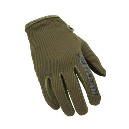 SetWear STH-06-009 Stealth Glove, Green, Medium