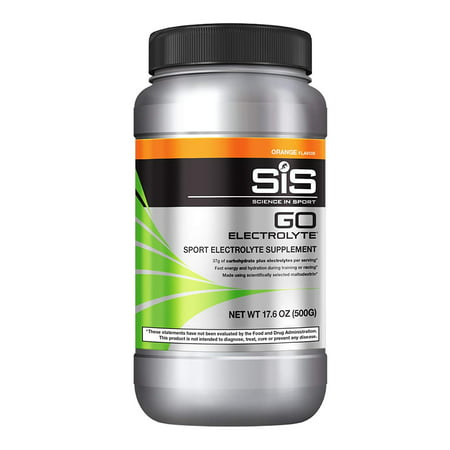 Go Electrolyte Energy Drink Powder | Orange Flavor Sports Performance and Endurance Supplement - 1.25 Pound, OPTIMIZE PERFORMANCE | SiS GO Electrolyte contains a.., By Science in (Best Endurance Sports Drink)