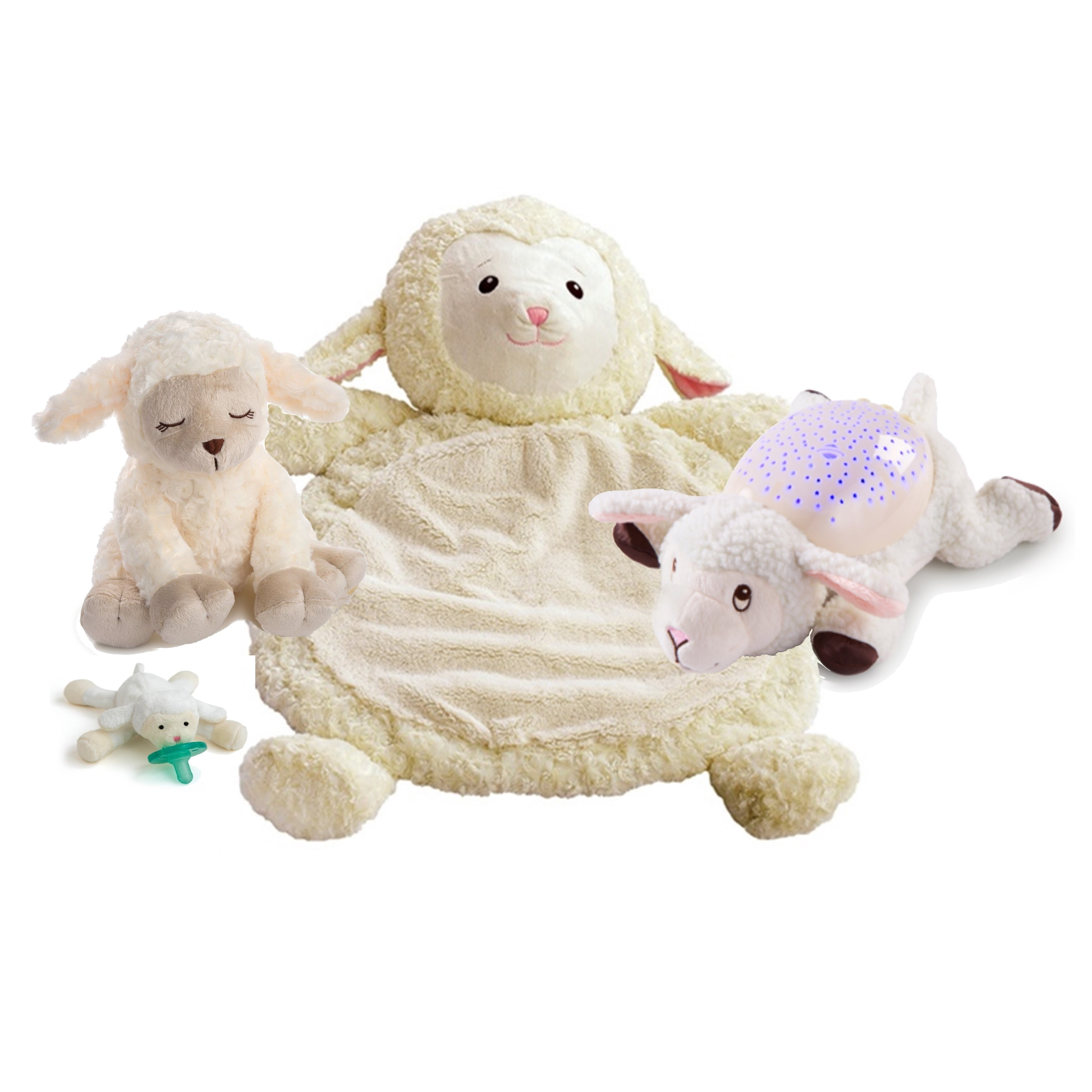 Summer Infant  Little Lamb 4-piece Soothe, Sleep and Play...