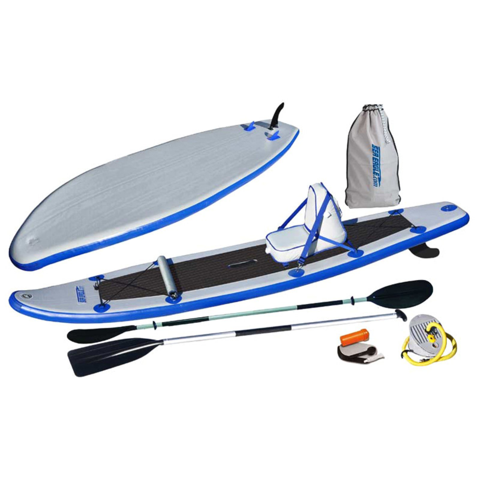 Sea Eagle 11 Deluxe Package Stand Up Paddle Board