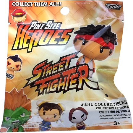 Funko Pint Size Heroes Street Fighter Mystery (The Fighter Gym Class Heroes Ft Ryan Tedder)