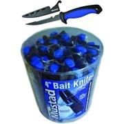 Mustad MT020 4 Inch Bait Knife With Sheath 24Pc Bucket