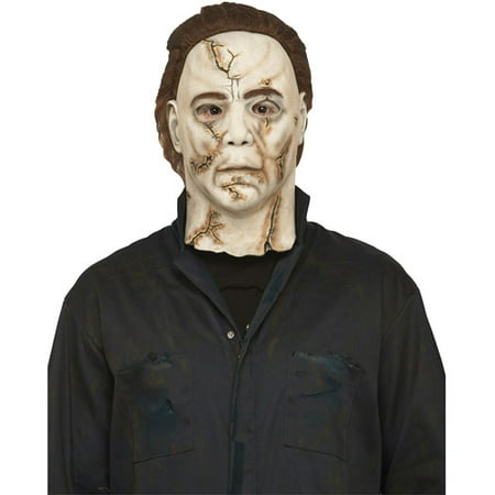 Michael Myers Rob Zombie Adult Halloween Mask - Halloween Curse Of Michael Myers Mask