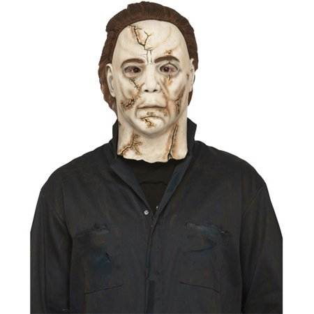 Michael Myers Rob Zombie Adult Halloween Mask - Rob Zombie Halloween Pumpkin Mask