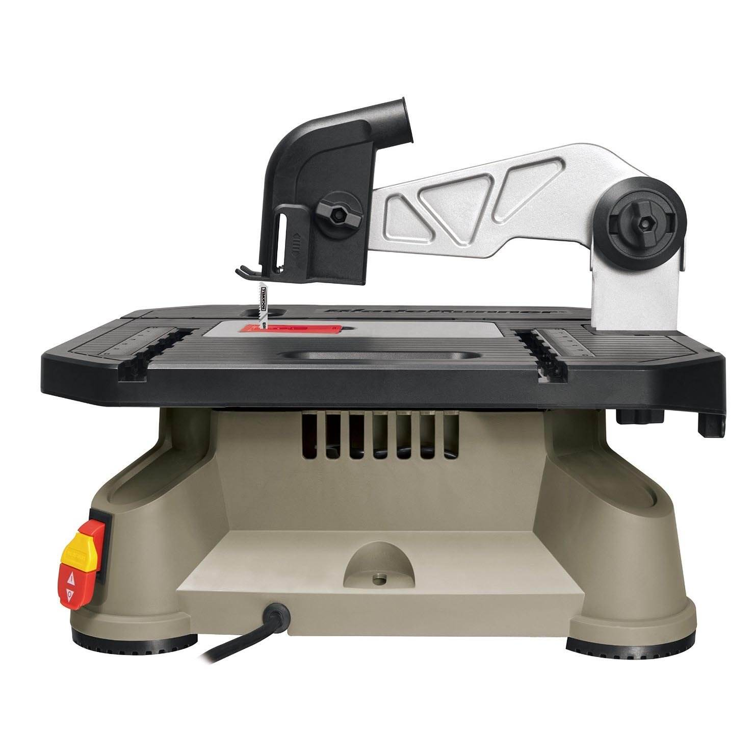 Table Saw Rockwell BladeRunner X2 Portable Tabletop Cutting Machine Rip Scroll