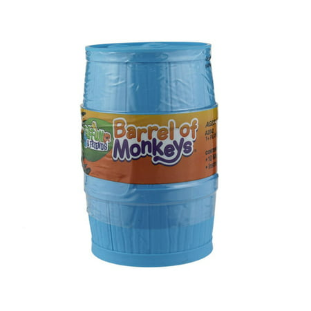 Elefun and Friends Barrel of Monkeys Game, for Kids 3 and Up