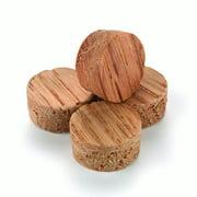 """Oak Side Grain Screw Hole Plugs 1/2"""" 15 pack"""