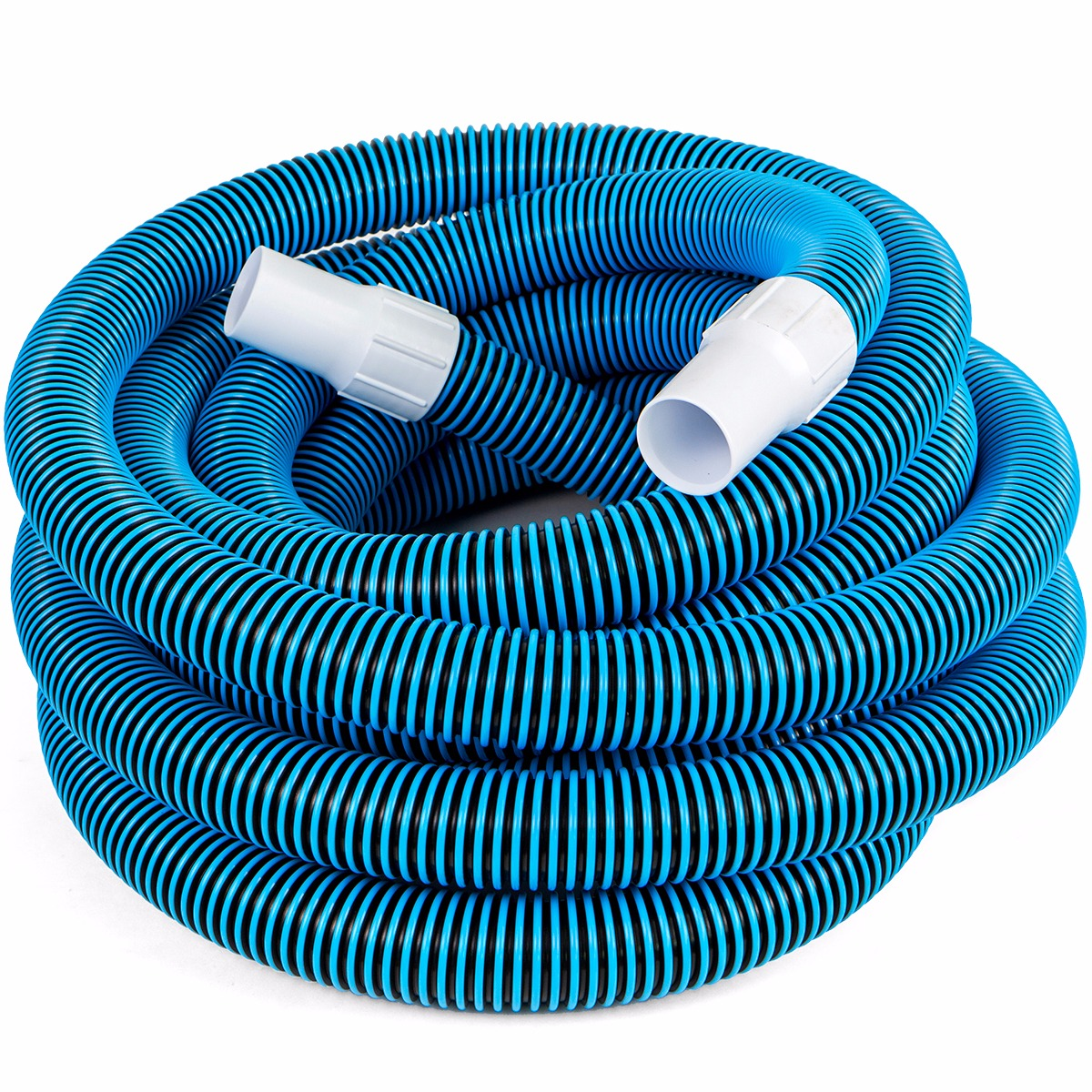 "XtremepowerUS 1-1/2"" 30' Swimming Pool Vacuum Hose, with Swivel Cuff"