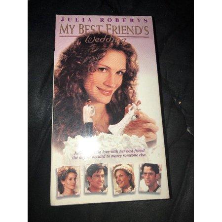 My Best Friends Wedding (VHS, 1997) Julia Roberts Romantic