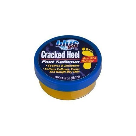 Blue Goo Cracked Heel Foot Softener, 2 oz - Walmart.com
