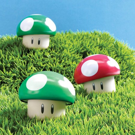 Super Mario Bros. Sour Candy Mushroom Tins, - Super Mario Bros Decorations