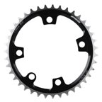 FSA, Pro Road, 39T Chainring, Alloy, Black, Shimano 10/11p., BCD: 110mm, For FSA ABS cranksets only