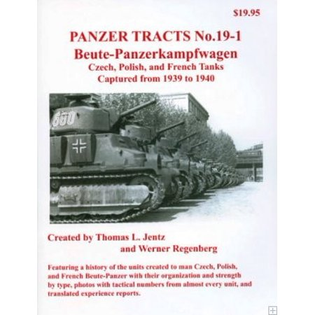 Panzer Tracts No.19-1 Beute-PzKpfw Czech, Polish & French - image 1 of 1