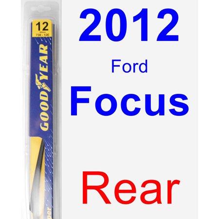2012 Ford Focus Rear Wiper Blade - Rear