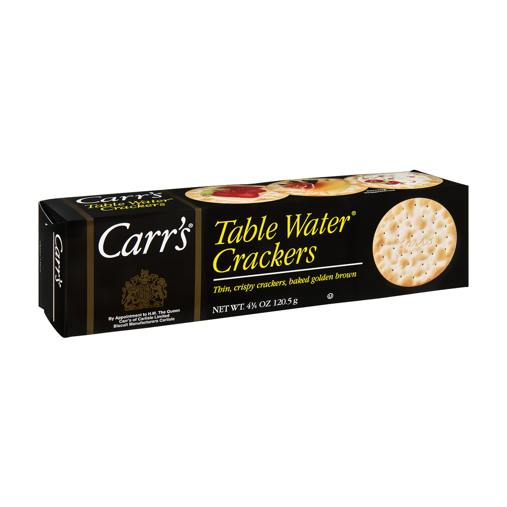 Carr's Table Water Crackers, 4.25 OZ by Carr's of Carlisle