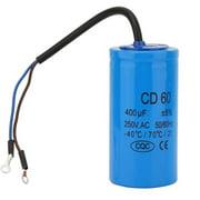 CD60 400uF Motor Start Capacitors 250VAC 50/60Hz Run Motor Capacitor