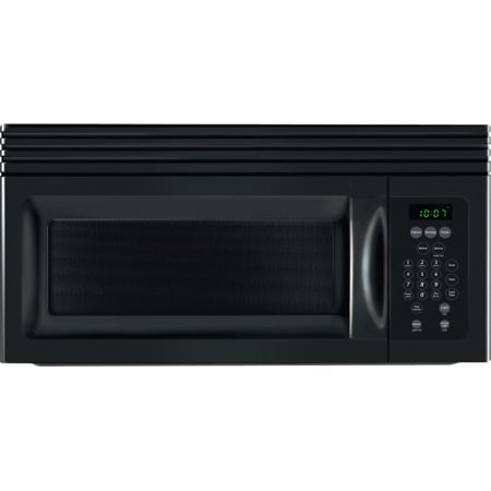"""Frigidaire 30"""" 1.5 Cu Ft 900W Over-the-Range Microwave Oven, Black"""