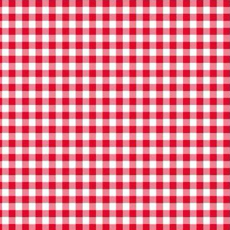 Disposable Red and White Gingham Paper Napkins (Pack of 50) Red Plaid Pack of -