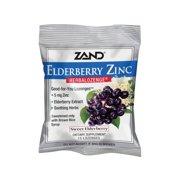 Zand HerbaLozenge Elderberry Zinc   Good-For-You Lozenges for Dry Throats   No Corn Syrup, No Cane Sugar, No Colors