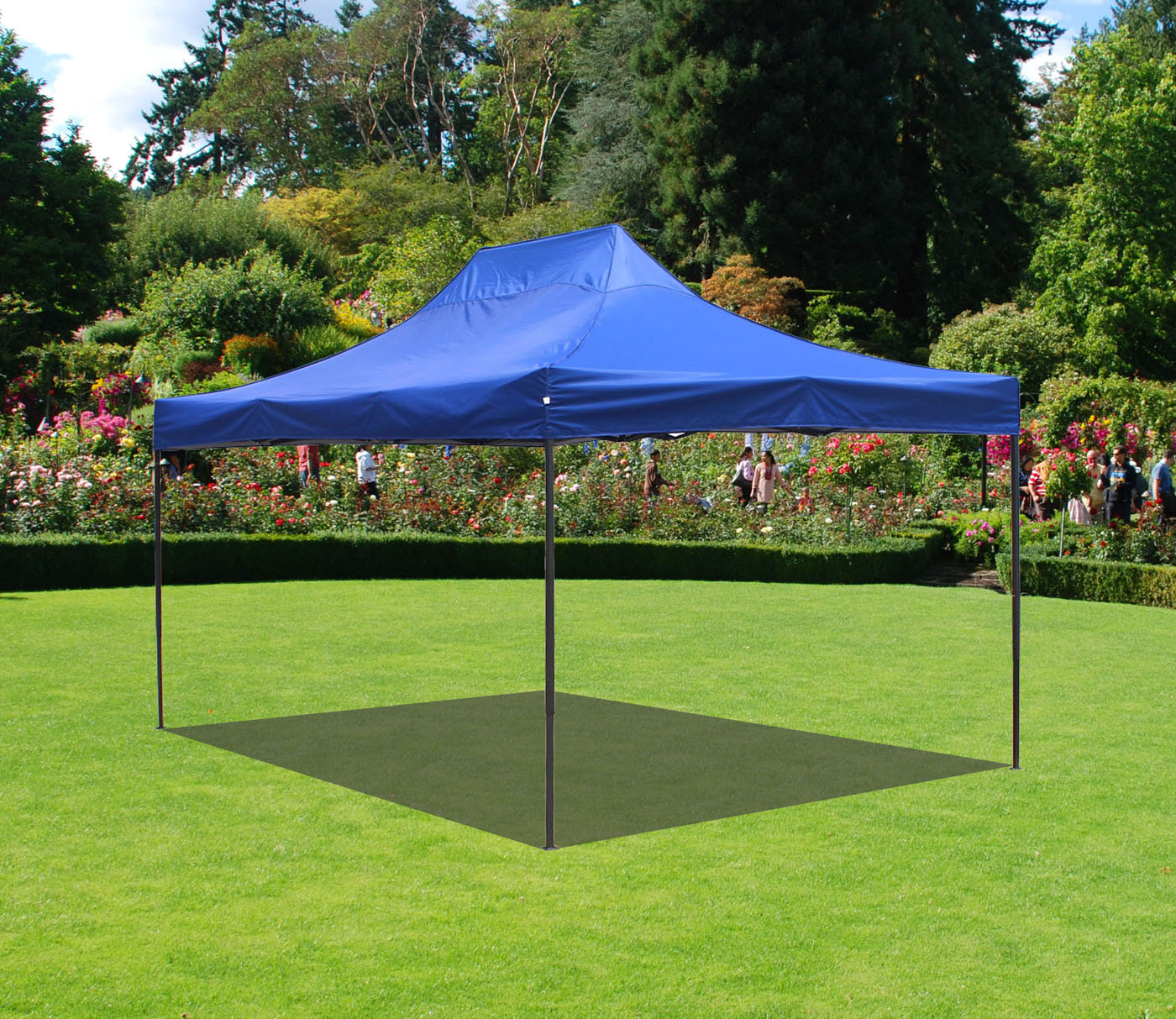 Canopy Tent 10 x 15 Commercial Fair Shelter Car Shelter Wedding Party Easy Pop Up & Canopy Tent 10 x 15 Commercial Fair Shelter Car Shelter Wedding ...