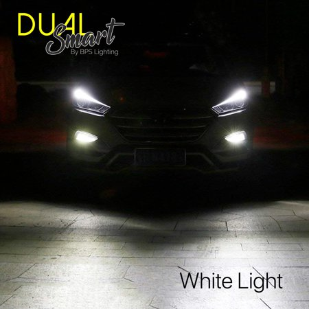 D2 LED Headlight Bulbs 2504/PSX24 Smart Function Dual Color White/Yellow 8000Lm - image 5 of 11