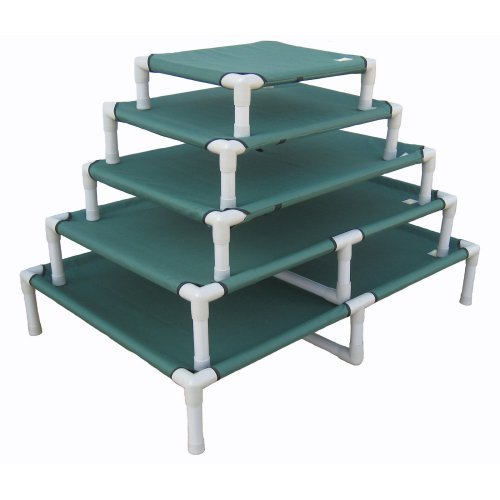 Go Pet Club Green Pet Cot