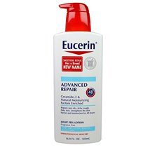 Body Lotions: Eucerin Advanced Repair Lotion