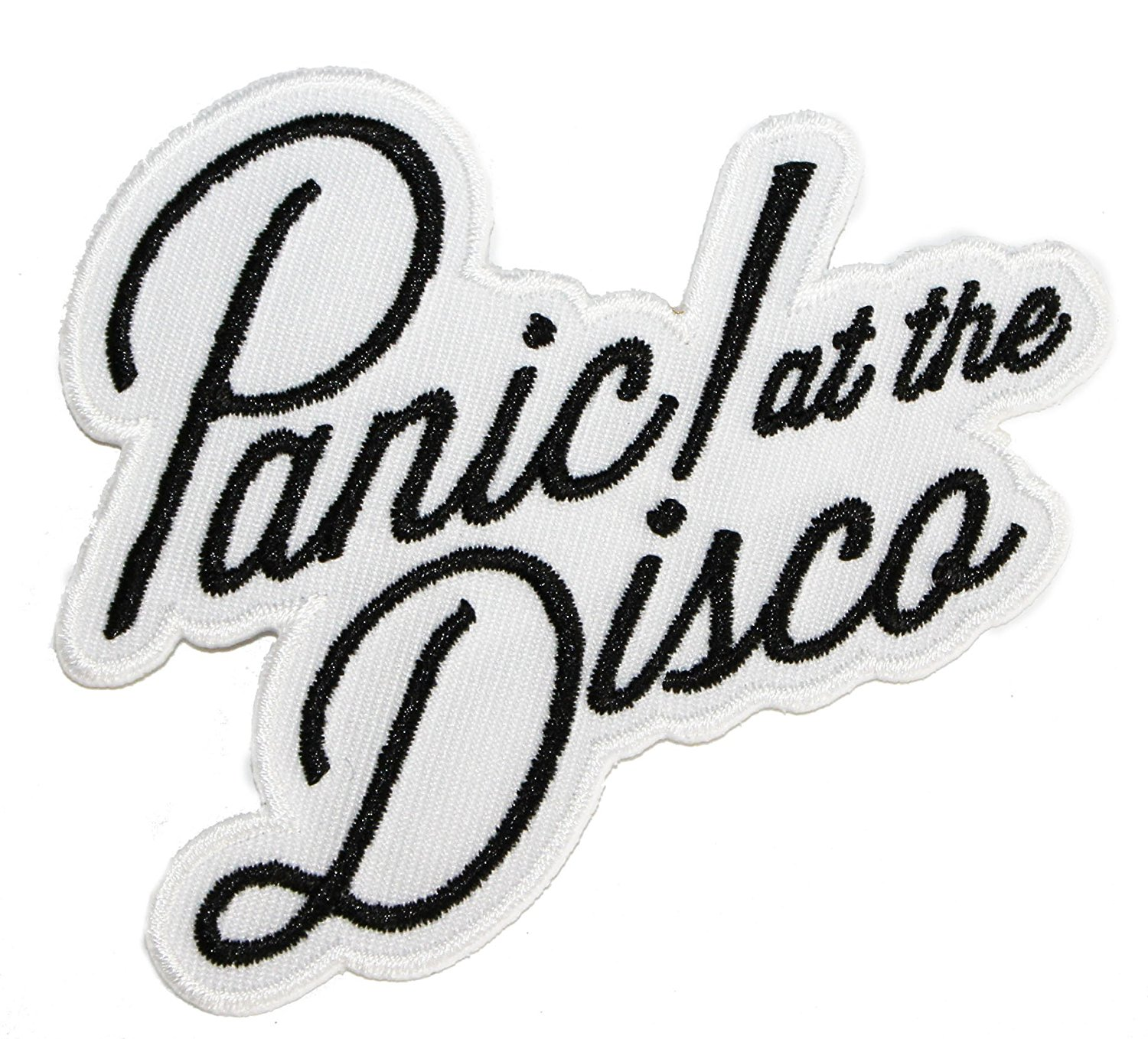 PANIC! At The Disco - Logo, Officially Licensed Artwork, Iron-On/Sew-On, Embroidered Patch