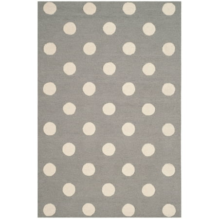 Safavieh Kids Polka Dots Area Rug or Runner (Cotton Polka Dot Rug)