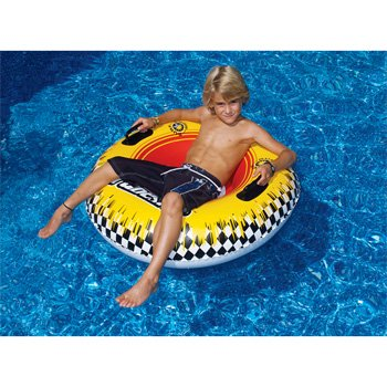 "Tubester 39"" Inflatable Water and Snow Tube, Heavy duty vinyl construction By Solstice by"