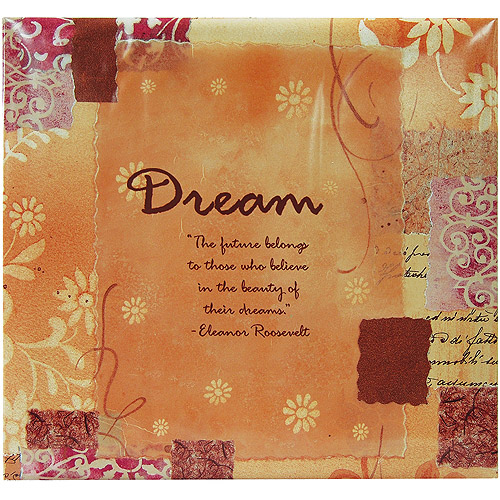 "Inspiration Post Bound Album, 12"" x 12"", Dream"