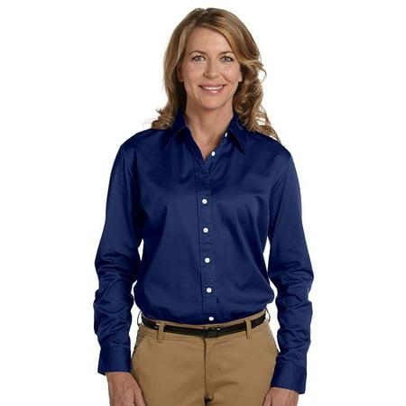 Chestnut Hill Women's 32 Singles Long Sleeve Twill Shirt Chestnut Hill 32 Singles
