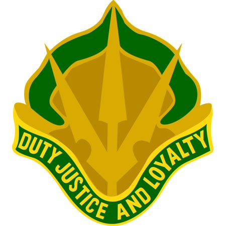 3.8 Inch Army 15th Military Police Brigade Unit Crest Vinyl Transfer Decal