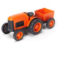 Green Toys Tractor Vehicle (Orange)