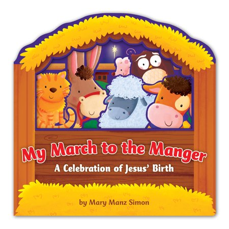 My March to the Manger : A Celebration of Jesus' Birth](Manger Silhouette)