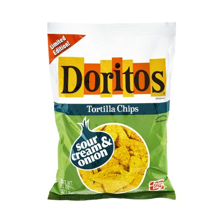 doritos sour cream onion tortilla chips 11 0 oz. Black Bedroom Furniture Sets. Home Design Ideas